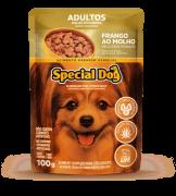 Caixa com 12 Sachê Special Dog Adultos Raças Pequenas Frango 12 x 100g