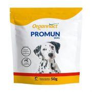 Suplemento vitamínico para cães aumento de imunidade Promun DOG 50g