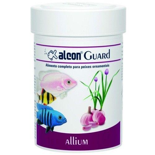Ração em flocos para peixes ornamentais Alcon Guard Allium 20g  - Onda do Pet