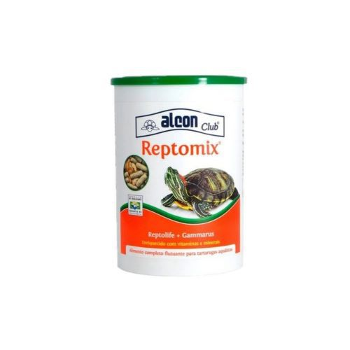 Ração e Camarão para Tigre D agua Alcon Reptomix 25g