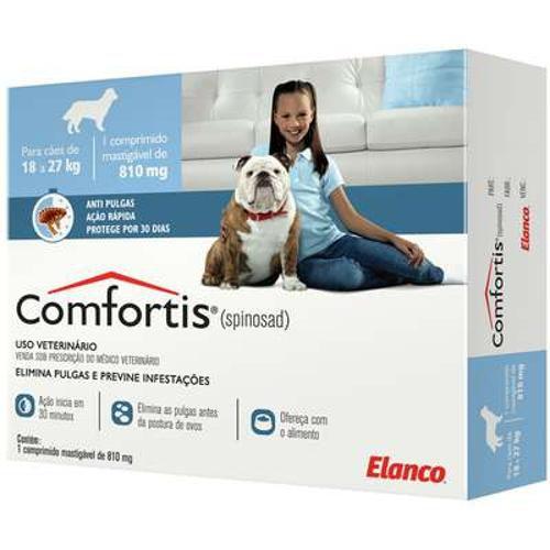 Antipulgas Comfortis para Cães entre 18 a 27 kg de peso