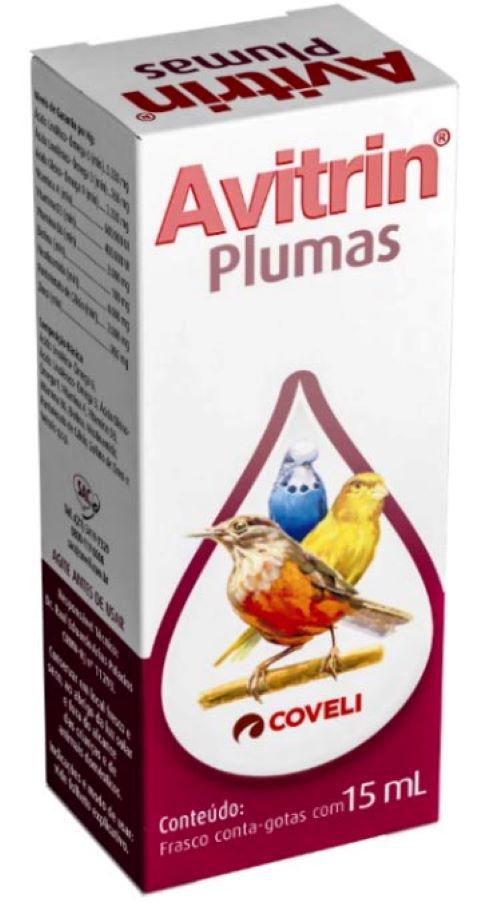 Avitrin Plumas 15 ml  - Onda do Pet