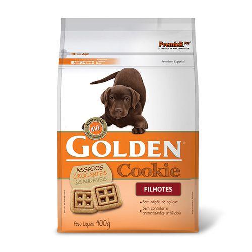 Biscoito para Cachorro Cookie Golden Filhotes 400g  - Onda do Pet