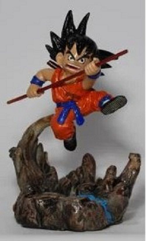 Boneco Dragon Ball Z - Goku Kid - Resina Artesanal