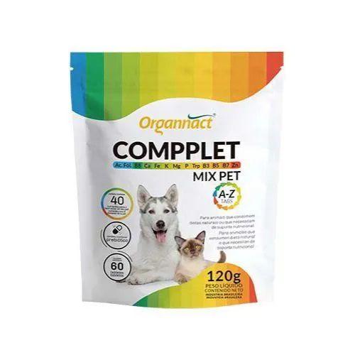 Complexo de vitaminas para cães e gatos Compplet de A-Z 120g  - Onda do Pet