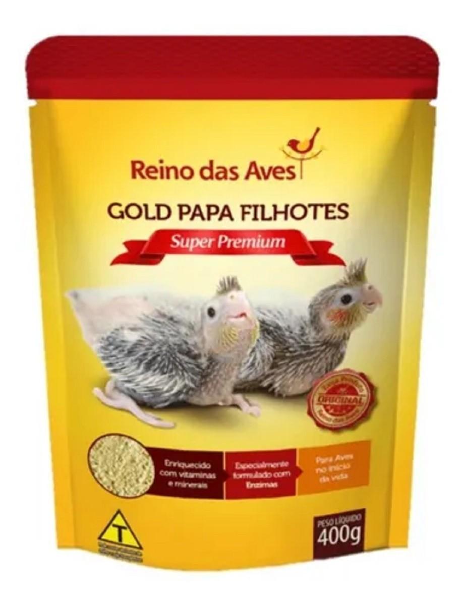 Kit c/ 2 Papinha filhotes de pássaros Calopsita, Ring Neck   - Onda do Pet