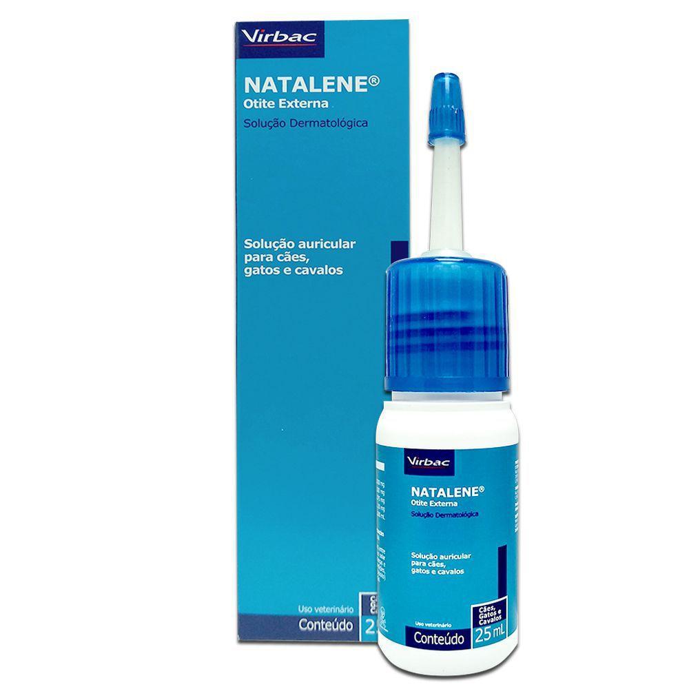 Medicamento para Otite Natalene  Virbac 25 ml  - Onda do Pet