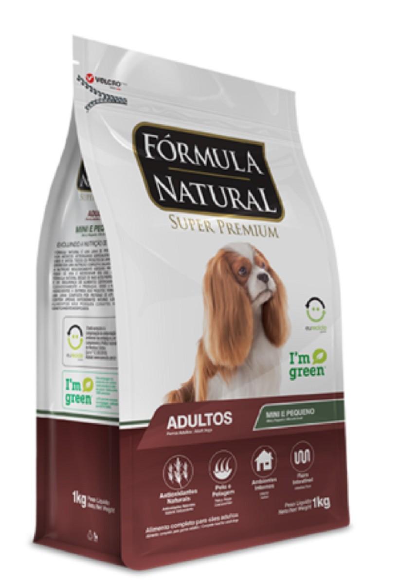 Ração Formula Natural Adulto Cães pequeno shih Tzu  Pincher 3,5 kg