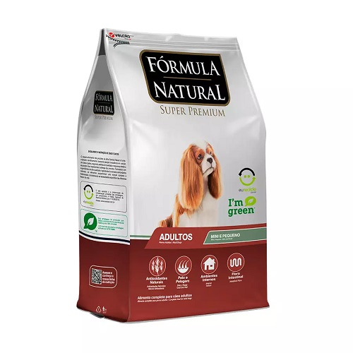 Ração Formula Natural Adulto Cães shih Tzu  Pincher 15 kg  - Onda do Pet