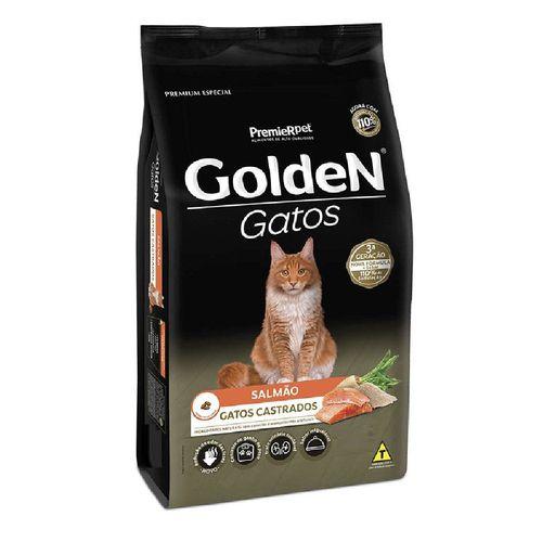 Ração para Gatos Castrados Golden Salmão 1 kg