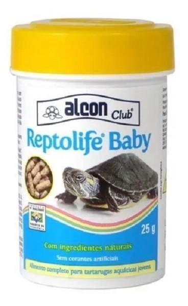 Ração para Tigre d Agua Filhote Alcon Reptolife Baby 25g  - Onda do Pet