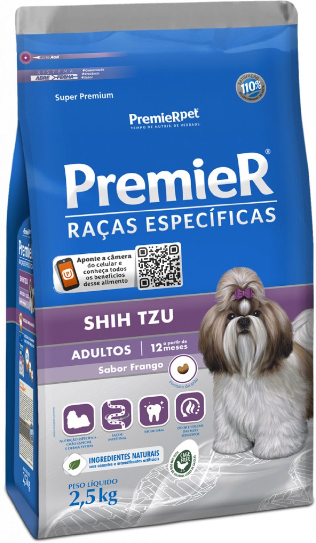 Ração Premier para Shih Tzu Adulto 2,5 kg