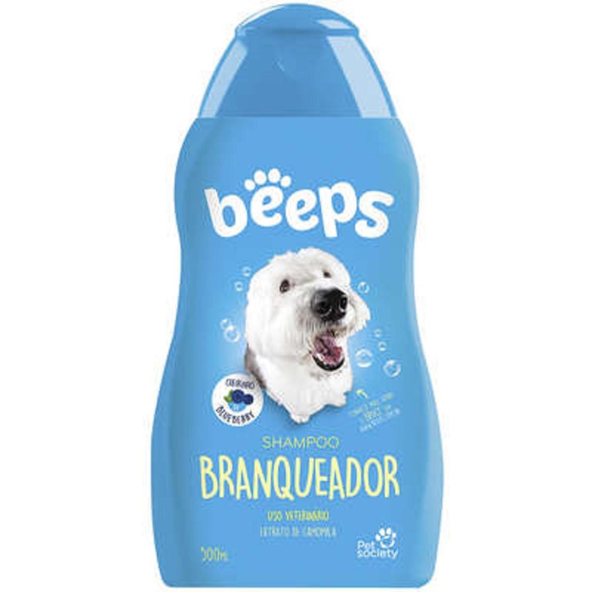 Shampoo Branqueador Shitzu e Condicionador Hidratante Beeps