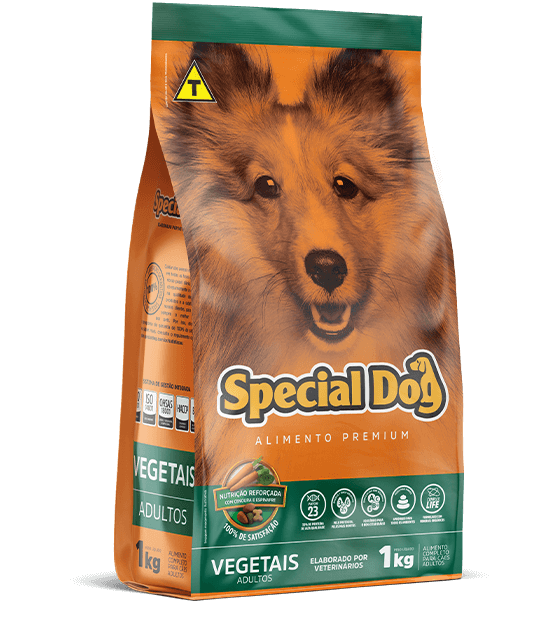 Ração para cães Special Dog Vegetais 15kg