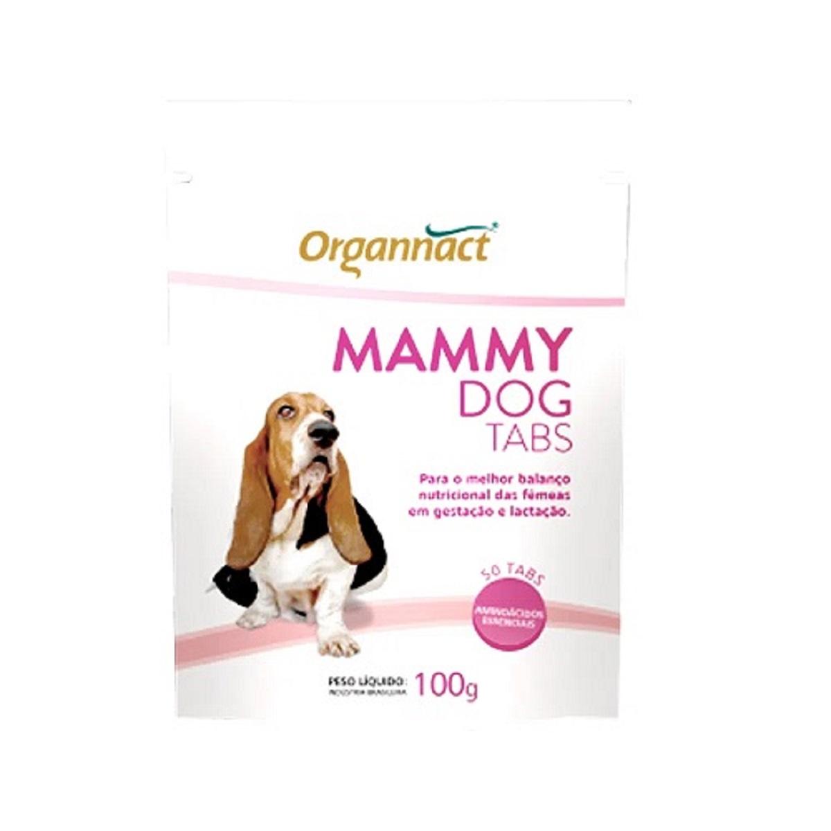 Suplemento Vitamina para Cadelas Gestantes Mammy Dog Tabs 100g