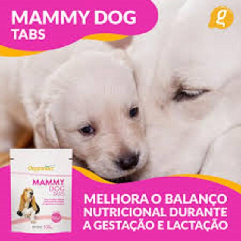 Suplemento Vitamina para Cadelas Gestantes Mammy Dog Tabs 100g  - Onda do Pet