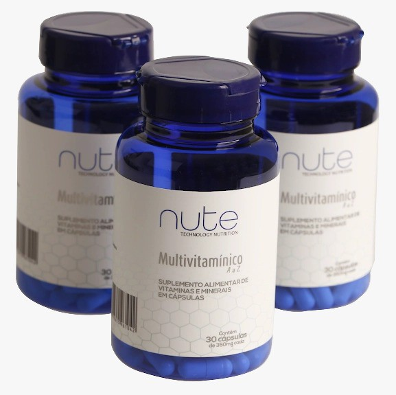 Kit com 3 Multivitaminico A a Z  - Nute