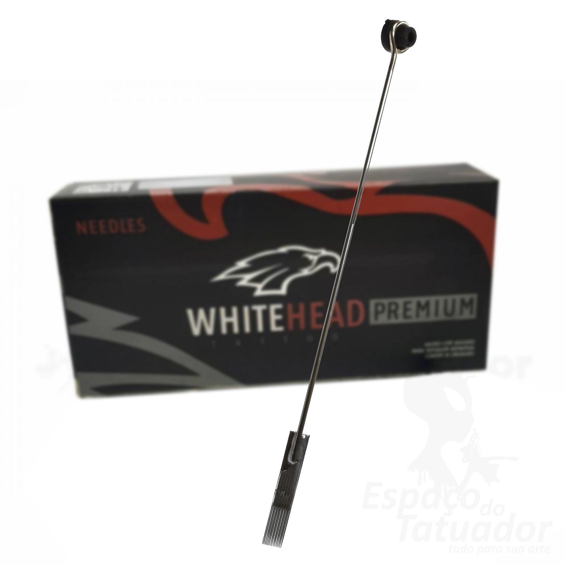 Agulha White Head Premium - MG 09 - Caixa com 50 unidades