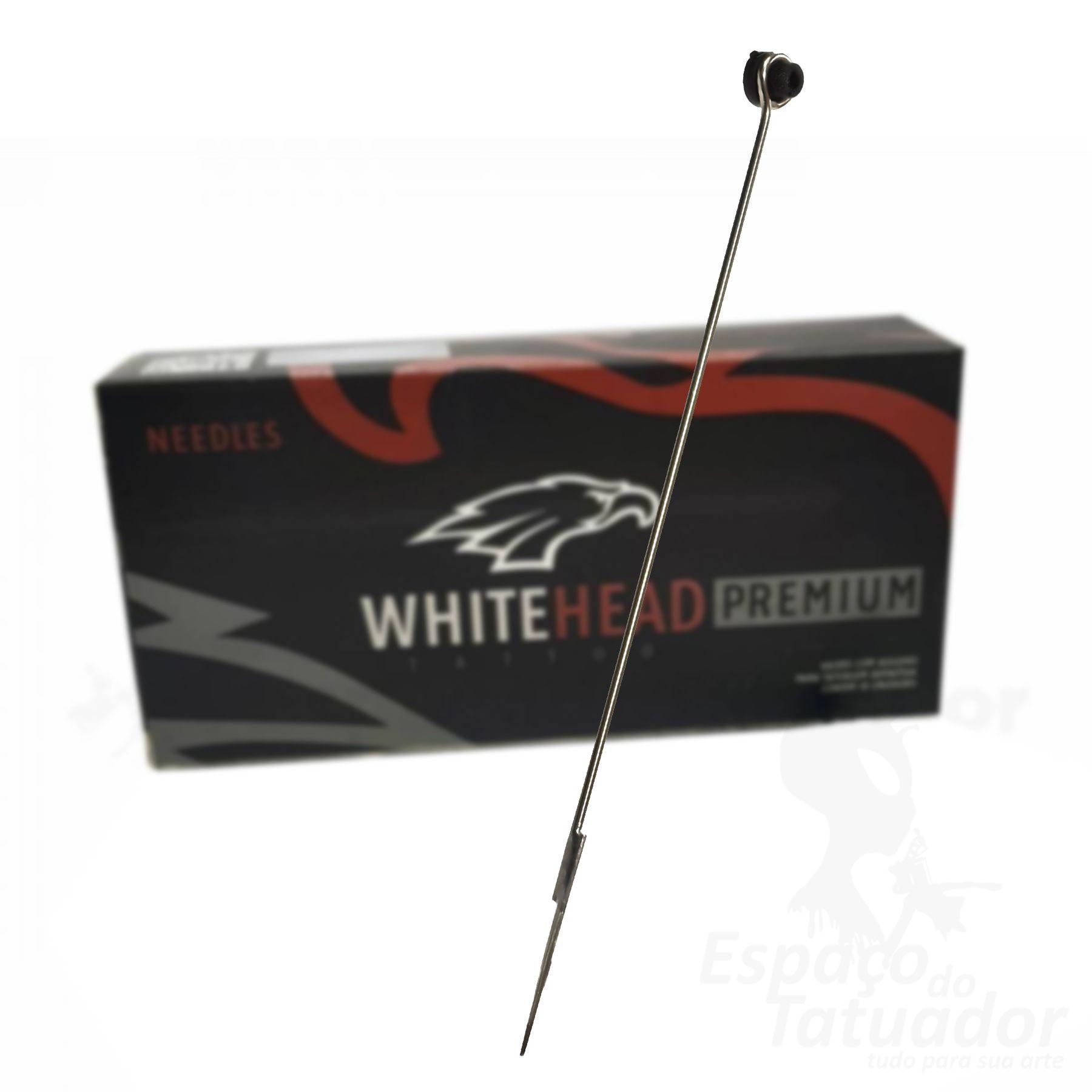 Agulha White Head Premium - RL 1205 - Caixa com 50 unidades