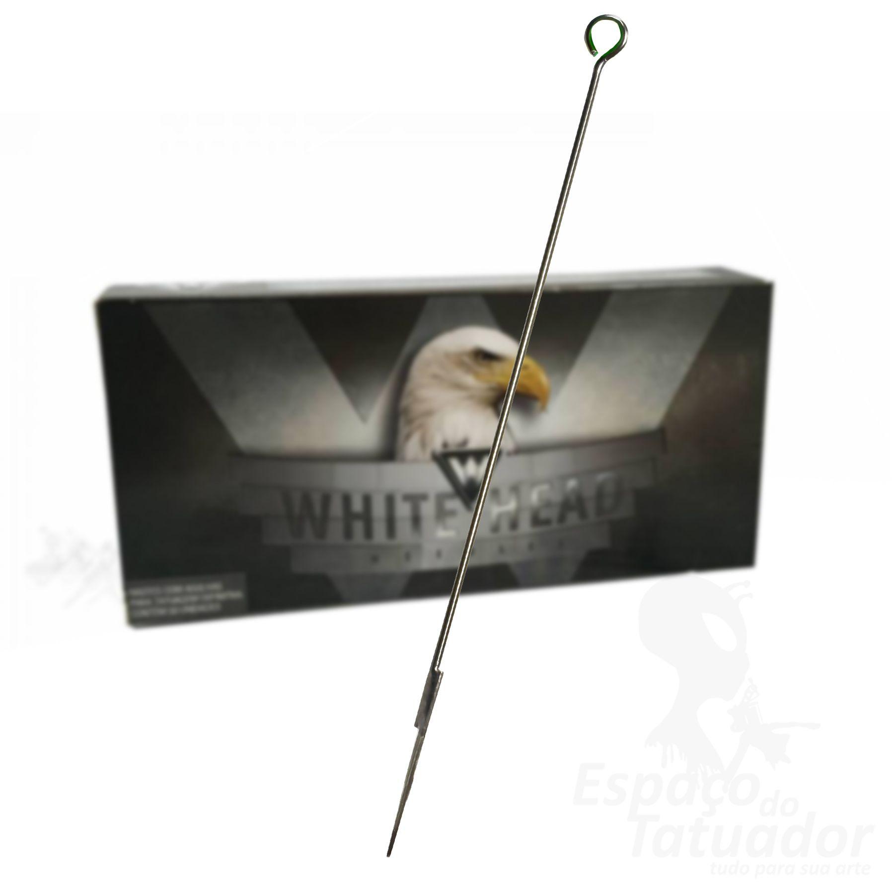 Agulha White Head - RL 1005 - Caixa com 50 unidades