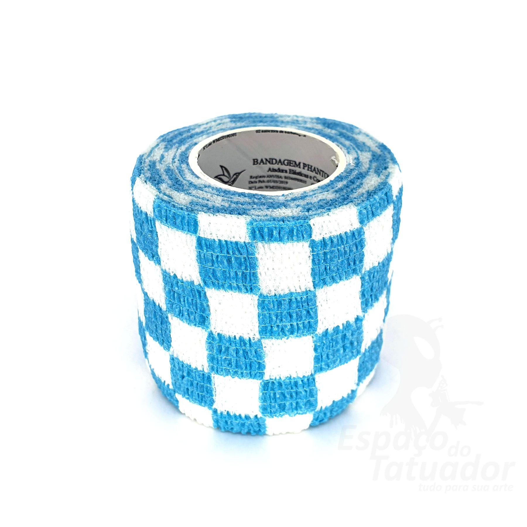 Bandagem Custom Phantom HK - Blue Grid