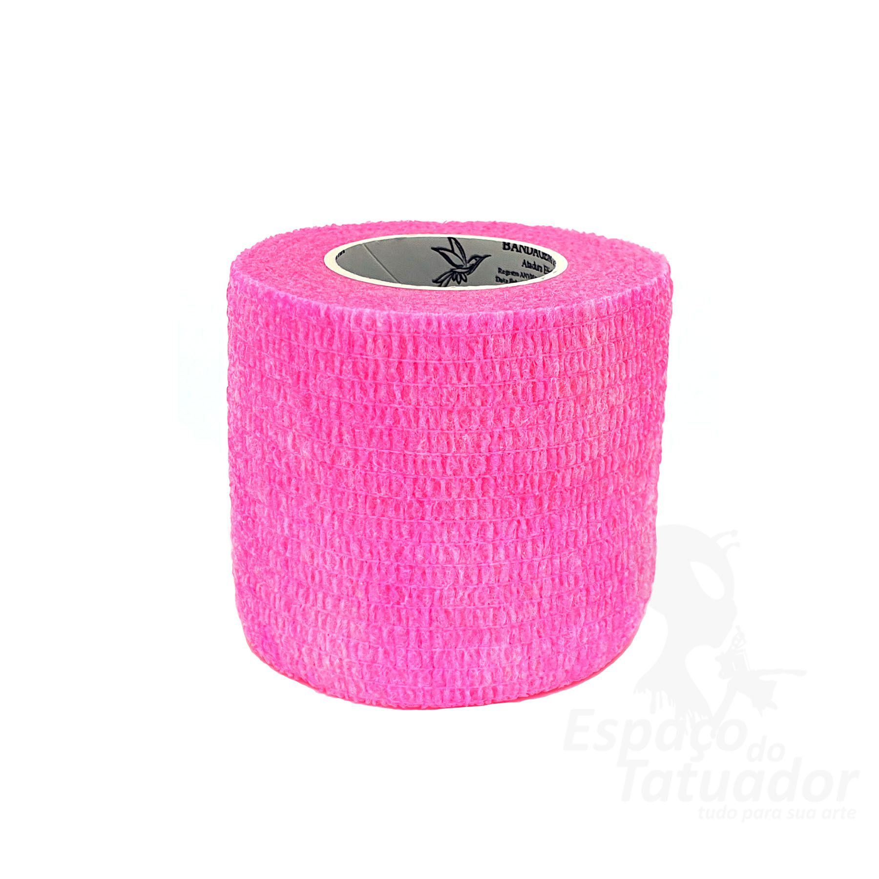 Bandagem Custom Phantom HK - 5cm x 4,5m - Fluo Pink