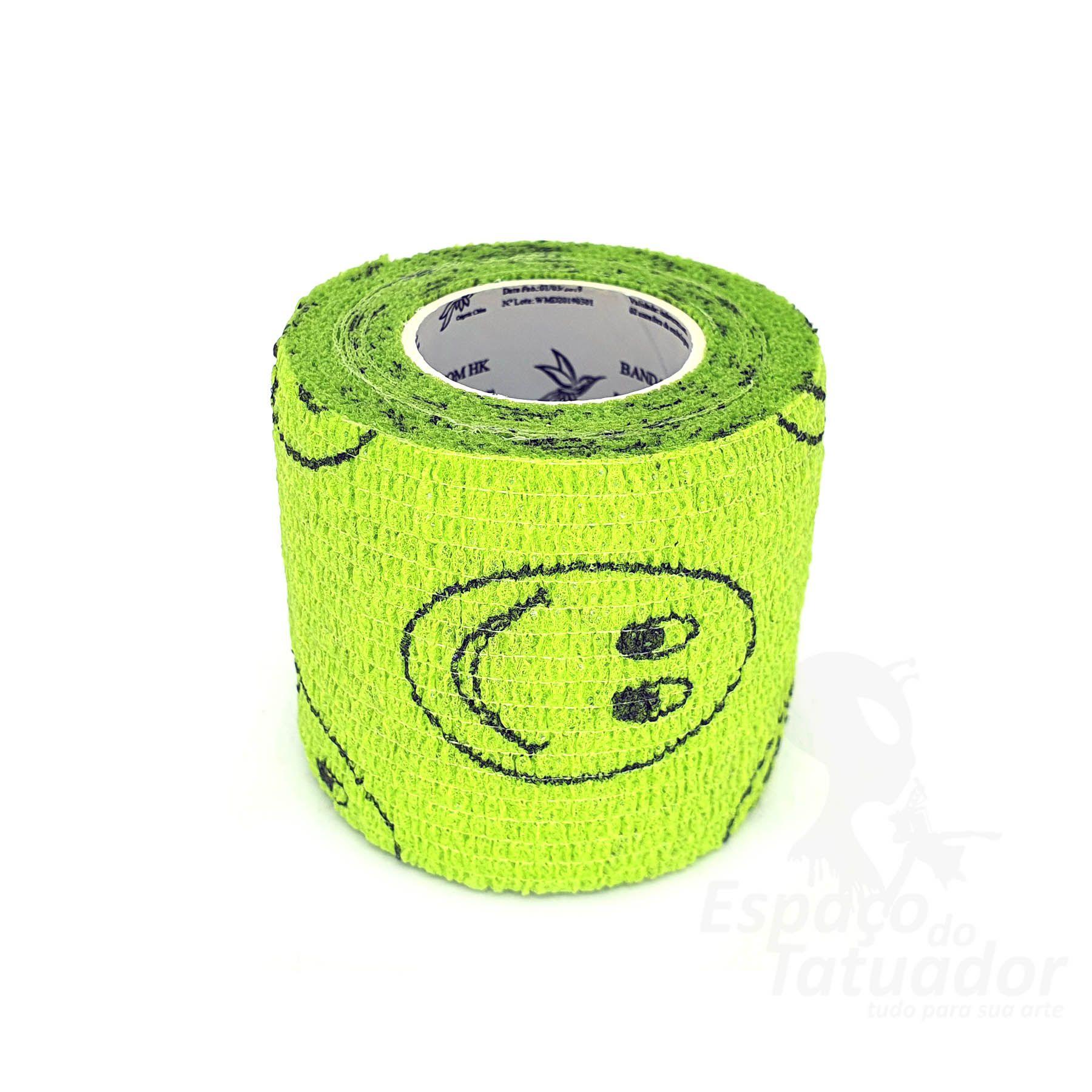 Bandagem Custom Phantom HK - Grass Green With Smiley