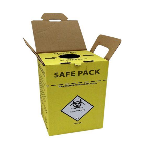 Coletor Perfurocortante 13 Litros SAFE PACK