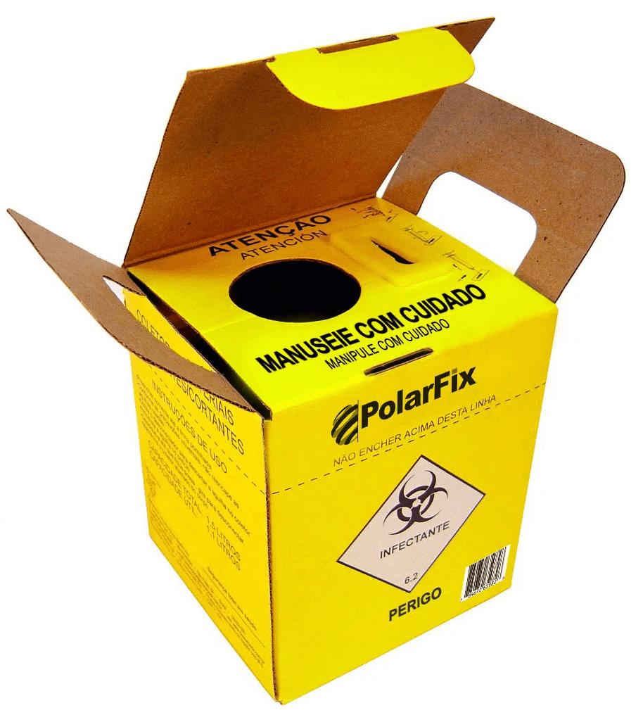 Coletor Perfurocortante 7 Litros Polarfix