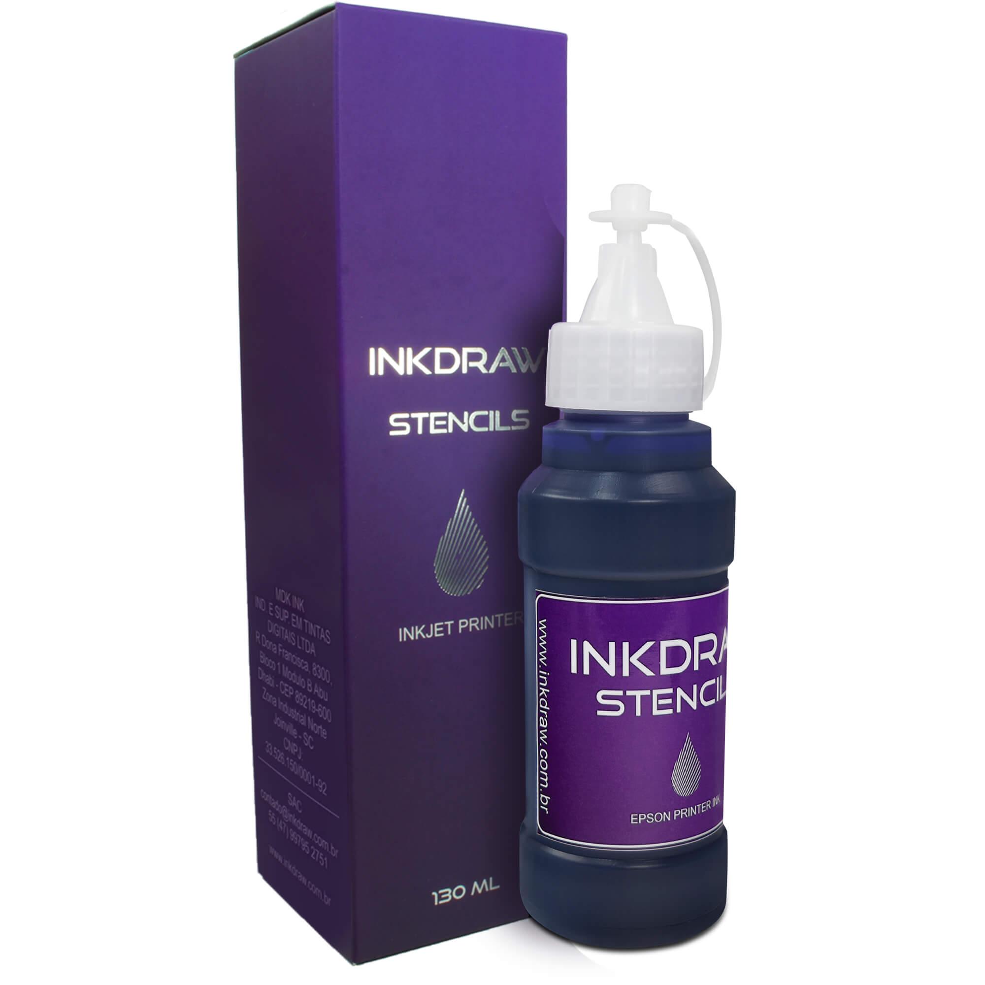 Inkdraw Stencils p/ Decalques - 130ml