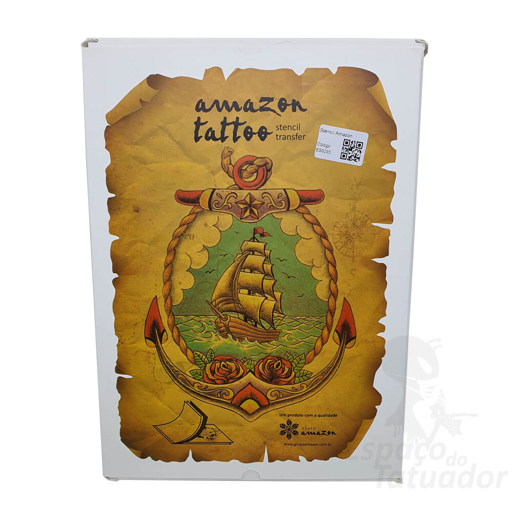 Papel Stencil Amazon - 50 Unidades