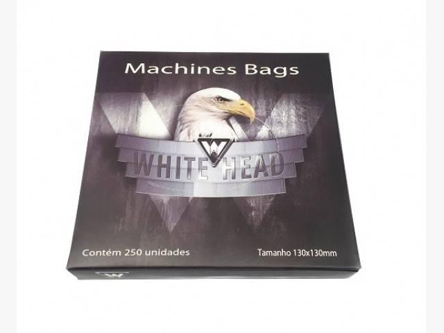 Plastico Protetor de Máquina White head