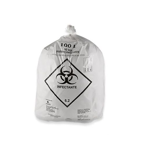 Saco de lixo infectante 50 litros