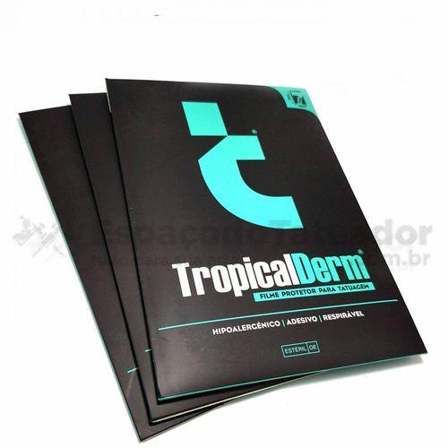 TropicalDerm Filme Protetor para Tatuagem - Cartela - 7 unidades