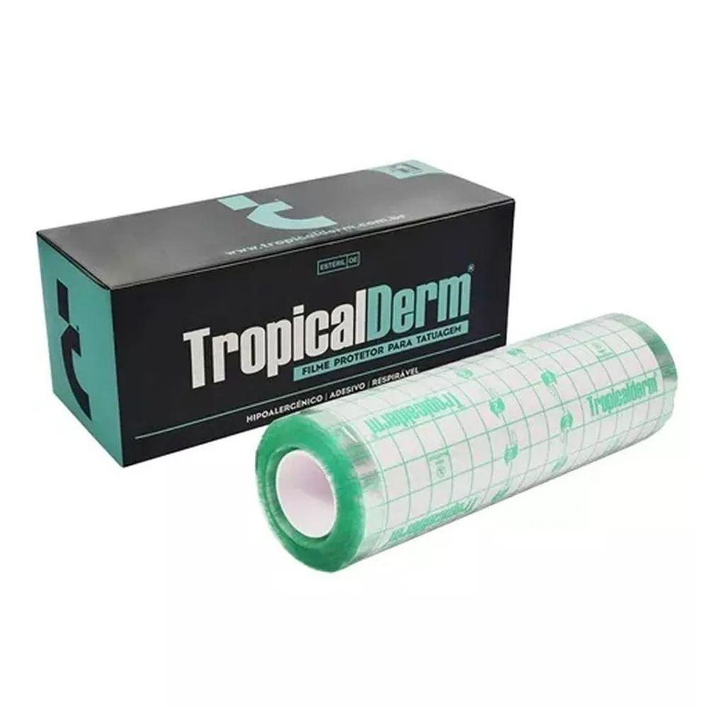 TropicalDerm Filme Protetor para Tatuagem - Rolo - 15cm x 10m