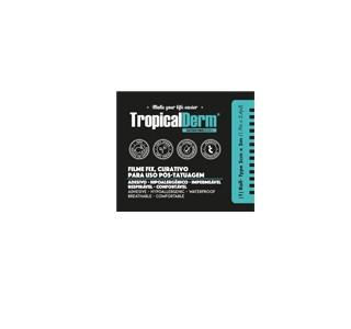 TropicalDerm Filme Protetor para Tatuagem - Rolo - 5cm x 5m