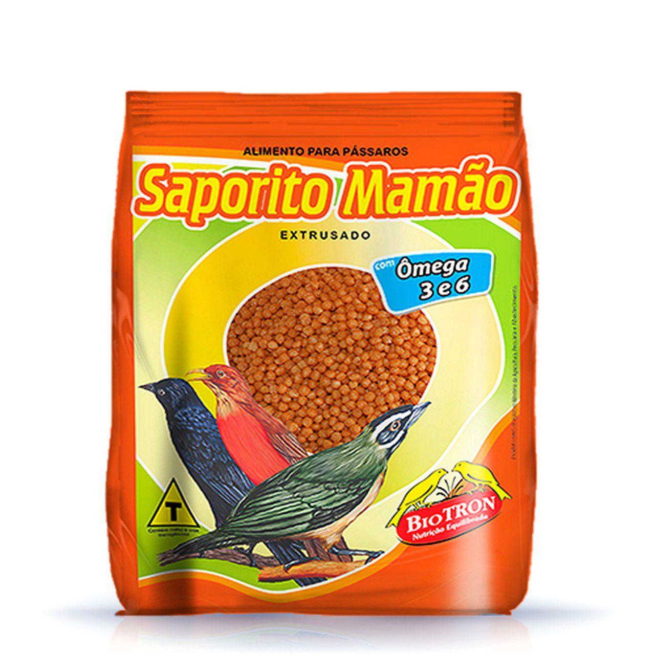 Ração Biotron Saporito Mamão 2,5 Kg