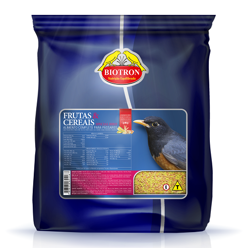 Ração  Biotron Special Bird Frutas E Cereais 5 Kg