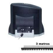 MOTOR DESLIZANTE GAREN 1/3 SPEED 110V + 03 METROS CREMALHEIRA