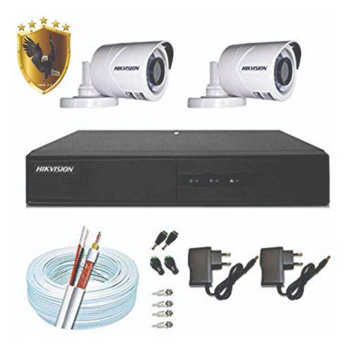 kIT SIMPLES CFTV HIKVISION