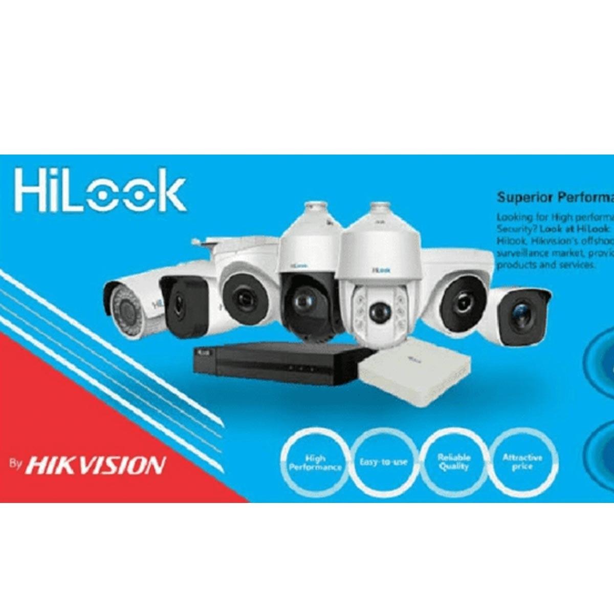 CÂMERA DOME HIKVISION HILOOK 20MTS 2MP 2,8MM PLAST. THC-T120C-P