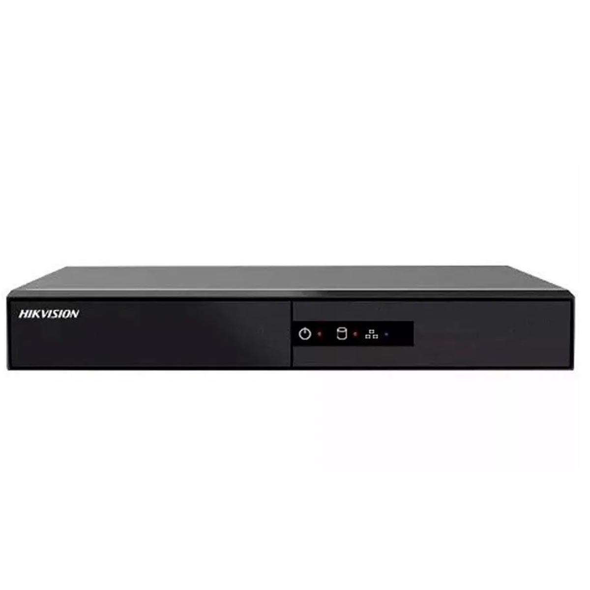 DVR STAND ALONE  HIKVISION  1MP 04 CANAIS COM HD 1 TB DS-7204HGHI-F1