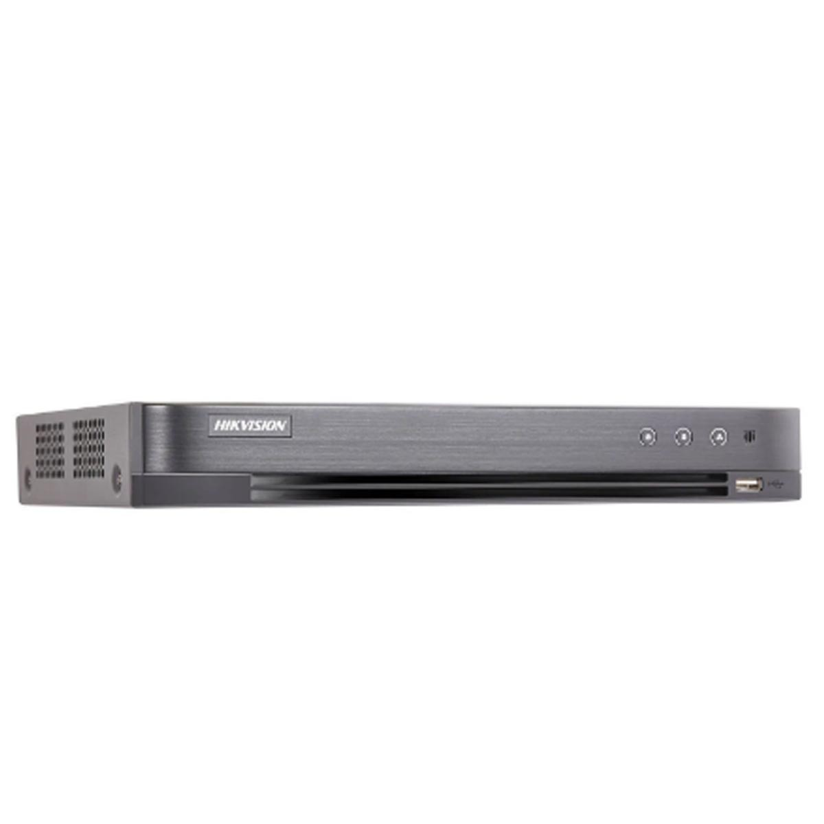DVR STAND ALONE HIKVISION 8MP 08 CANAIS IDS-7208HUHI-M1/S