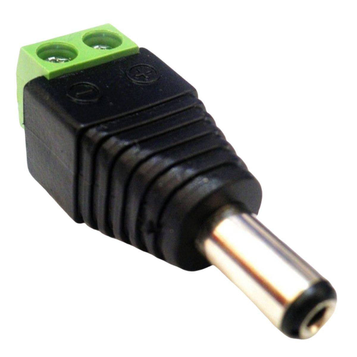 KIT CONECTOR P4 MACHO COM BORNE COM 10 UNIDADES