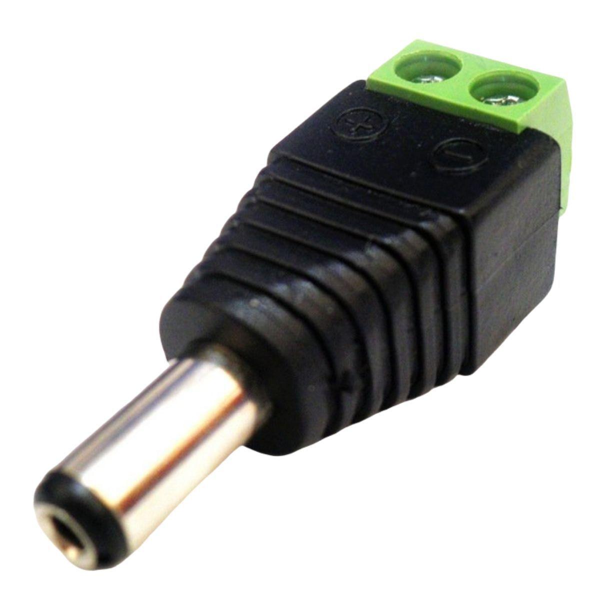 KIT CONECTOR P4 MACHO COM BORNE COM 5 UNIDADES