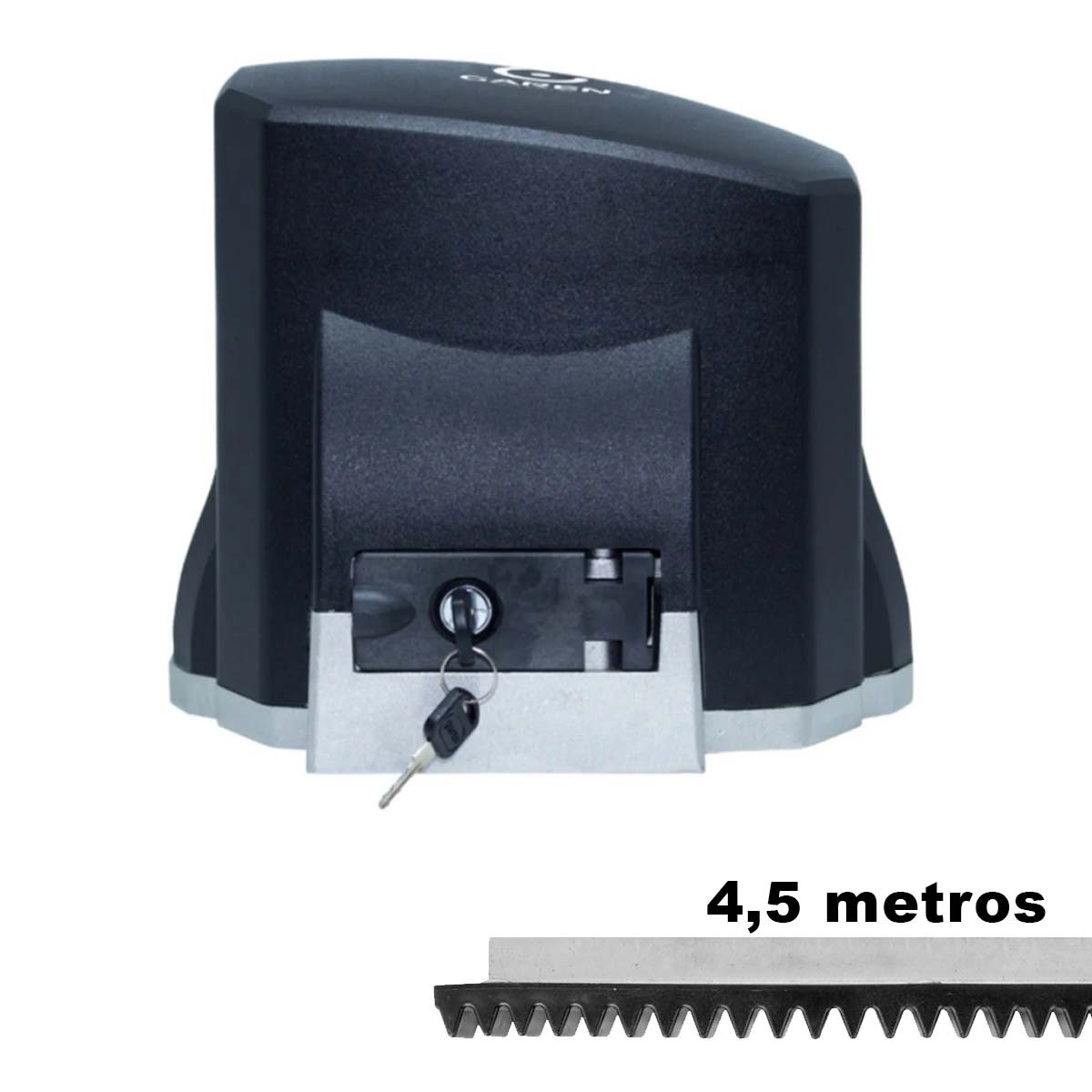 MOTOR DESLIZANTE GAREN 1/3 SPEED 110V + 4,5 METROS CREMALHEIRA