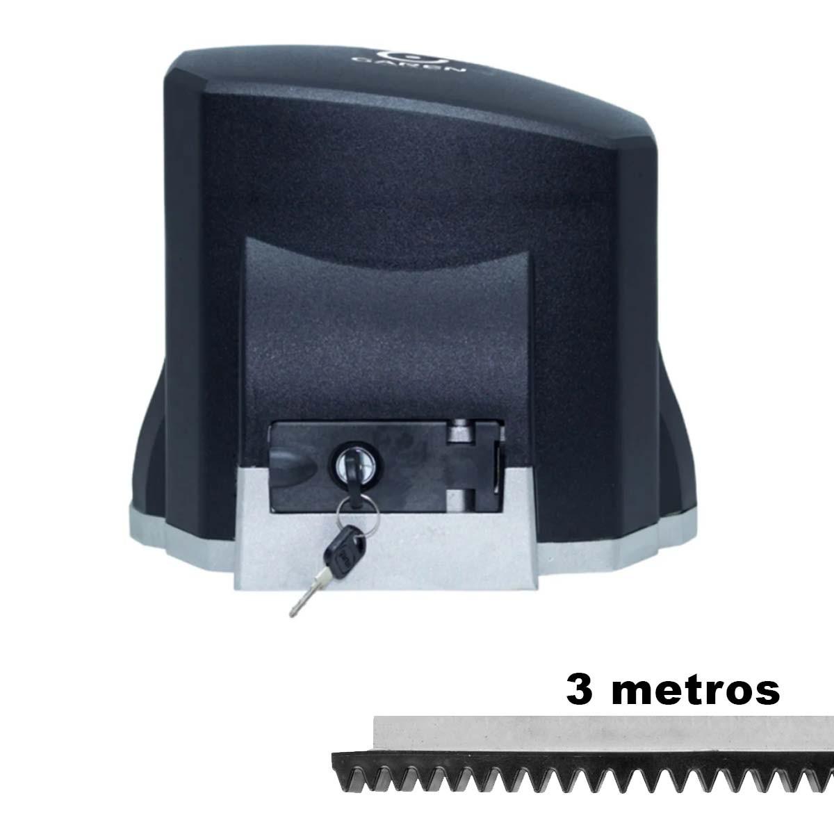 MOTOR DESLIZANTE GAREN 1/4 FIT 220V + 03 METROS CREMALHEIRA
