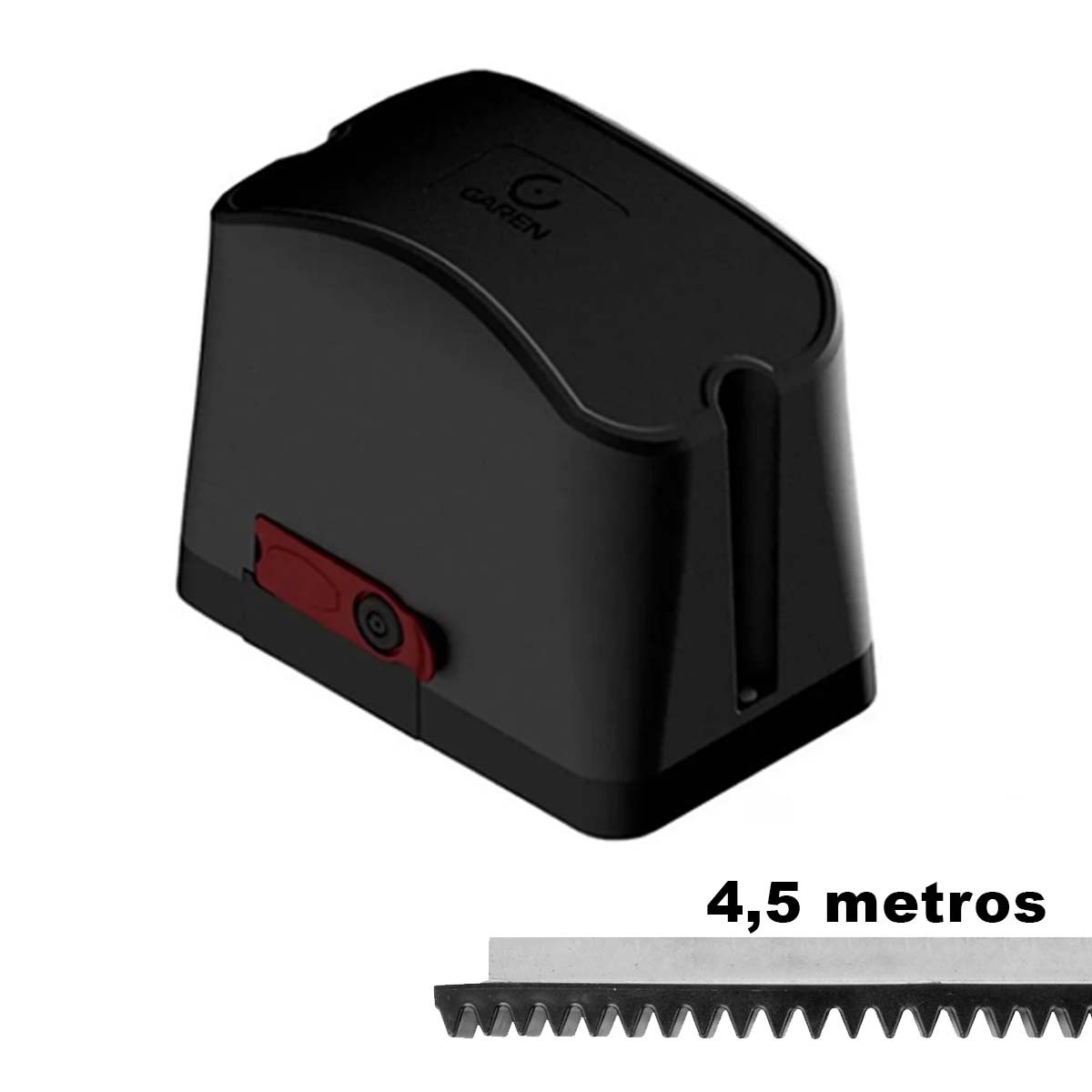 MOTOR DESLIZANTE GAREN DZ CASA 1/5 110V  + 4,5 METROS CREMALHEIRA
