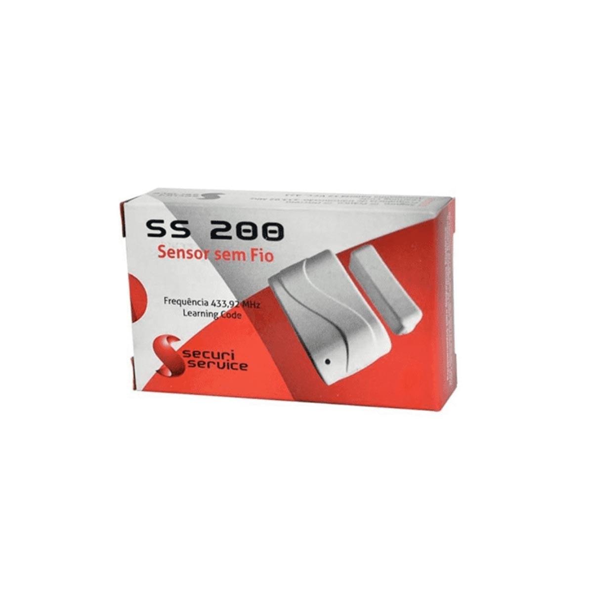 SENSOR MAGNETICO SECURI SERVICE SEM FIO GCP SS200
