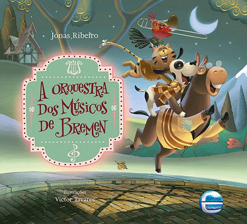 SMED - A Orquestra dos músicos de Bremen - Ed. Luxo